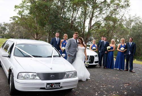 Cars for the Bridal Party & Guests